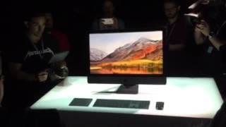 Apple iMac Pro at WWDC 2017