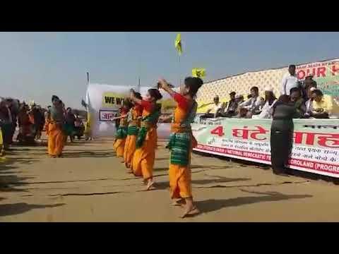 Bodo dance @Bodoland rally Delhi