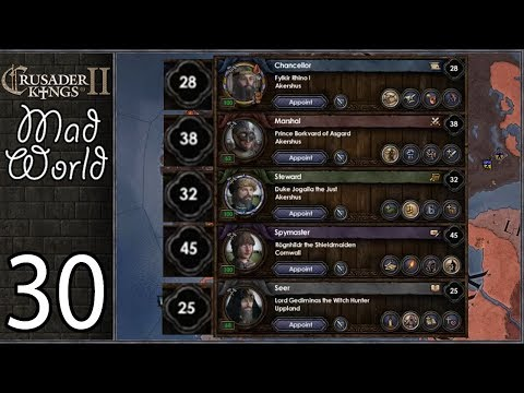 Crusader Kings 2: Mad World Penultimate - God Council - Roll1D2 Games