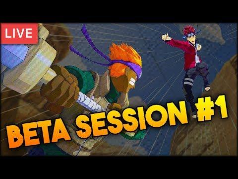 Naruto to Boruto: Shinobi Striker - Open Beta LIVE w/ The Homies! Session #1