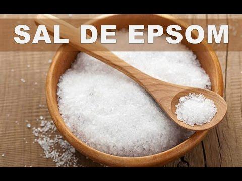 Estos son los 5 mejores beneficios de la sal de epsom para la salud del cuerpo