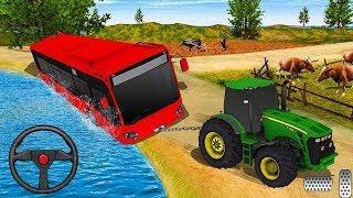 Juego de Tractor - Autos para niños - Tractor Pull & Farming Duty Game 2020 screenshot 5