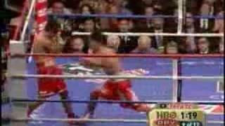 manny pacquiao marco antonio barrera rematch 10 06 2007