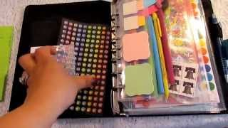 Lets Get Organized Series: Part 1 Planner Contents And Organization