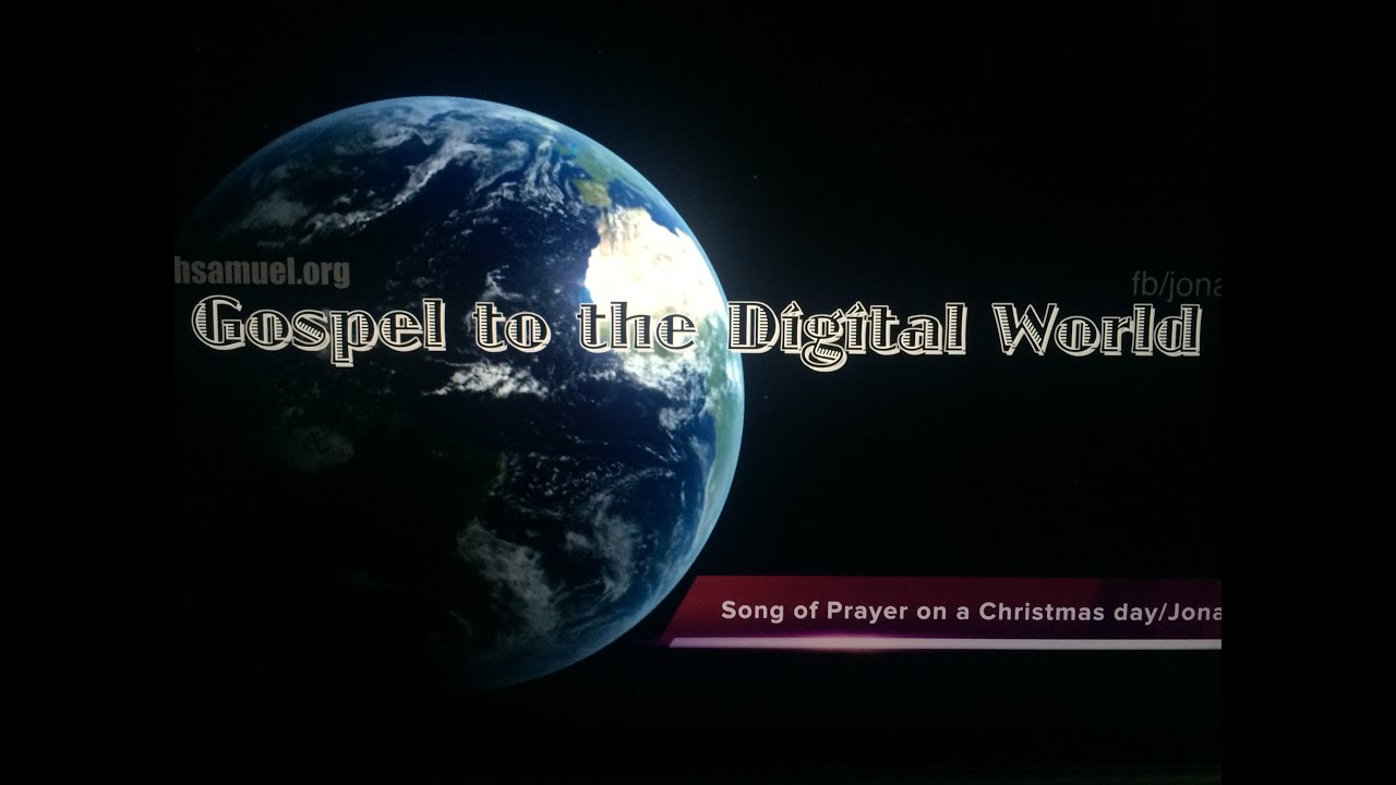 Song of Prayer on a Christmas day Trailer/Jonahsamuel/Hindi/Tamil/Telugu