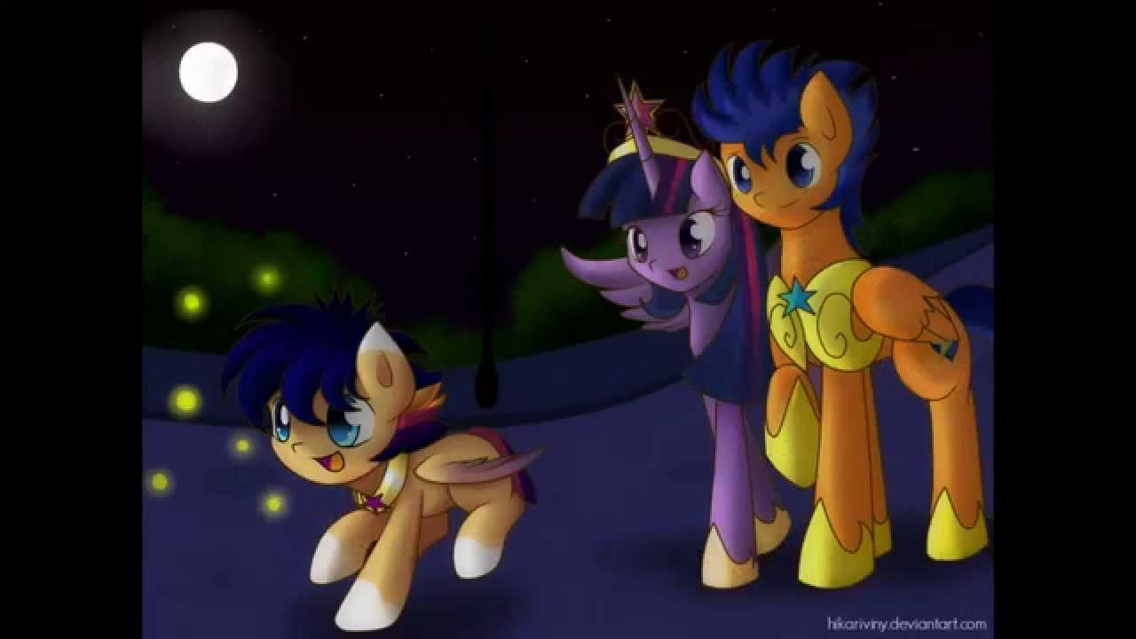 el amor de twilight sparkle y flash sentry youtube