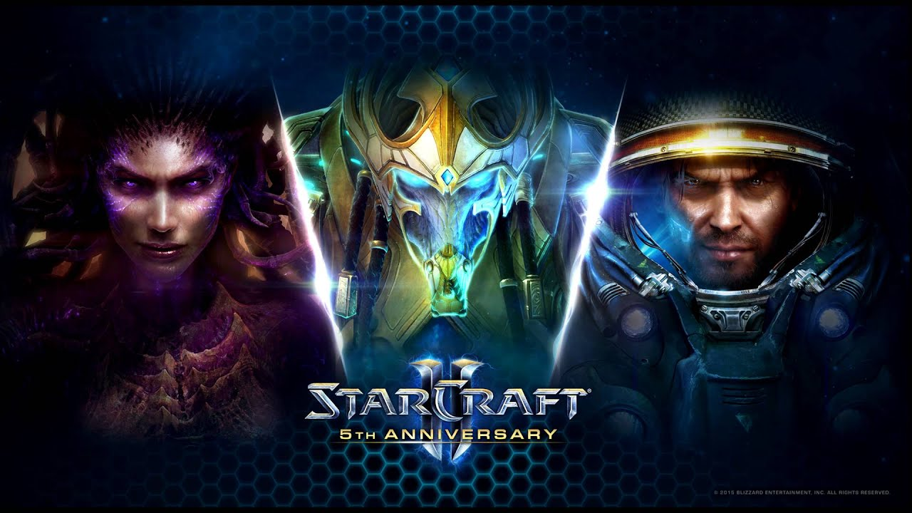 5 Years Of Blizzard Starcraft 2 Wallpapers In Glorious 4K