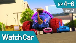 Power Battle Watch Car S1 EP 04~06 (English Ver)
