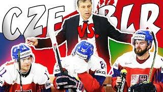ČESKO - BĚLORUSKO   MS v hokeji 2018