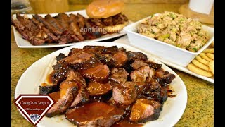 BBQ Country Style Ribs, BBQ Brisket & BBQ Chicken Recipes -TAILGATING Recipes  Cooking With Carolyn