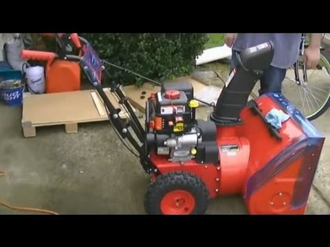"PowerSmart 208cc 24"" Two-Stage Snowblower"