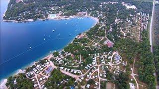 Flight over Camping Lanterna - Croatia