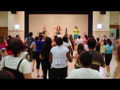 Let's Zumba with Raquel Call - La Isla Bonita Salsa remix