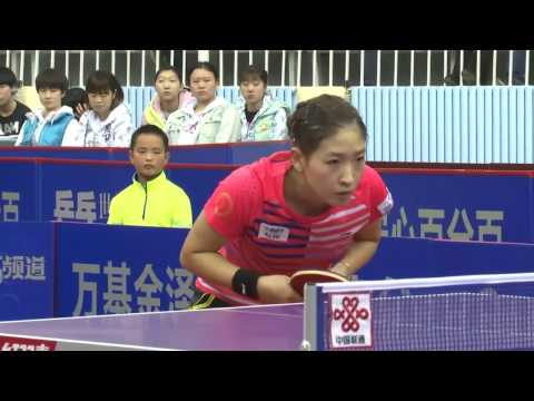 2016 China Super League: LIU Shiwen vs SUN Yingsha [Full Match/Chinese|HD]