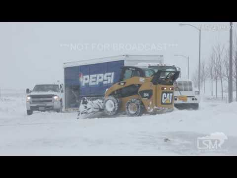 11-29-2016 Bismarck ND Blowing Snow and Auto Accidents