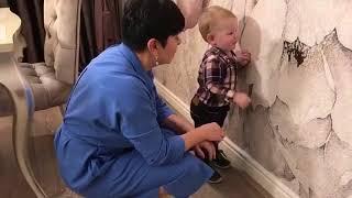 Годовалый сын Марата Башарова принял участие в передаче Идеальный ремонт