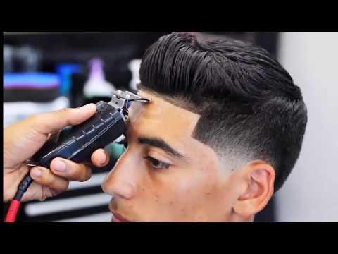 High Taper Fade Haircut Black Men 2018