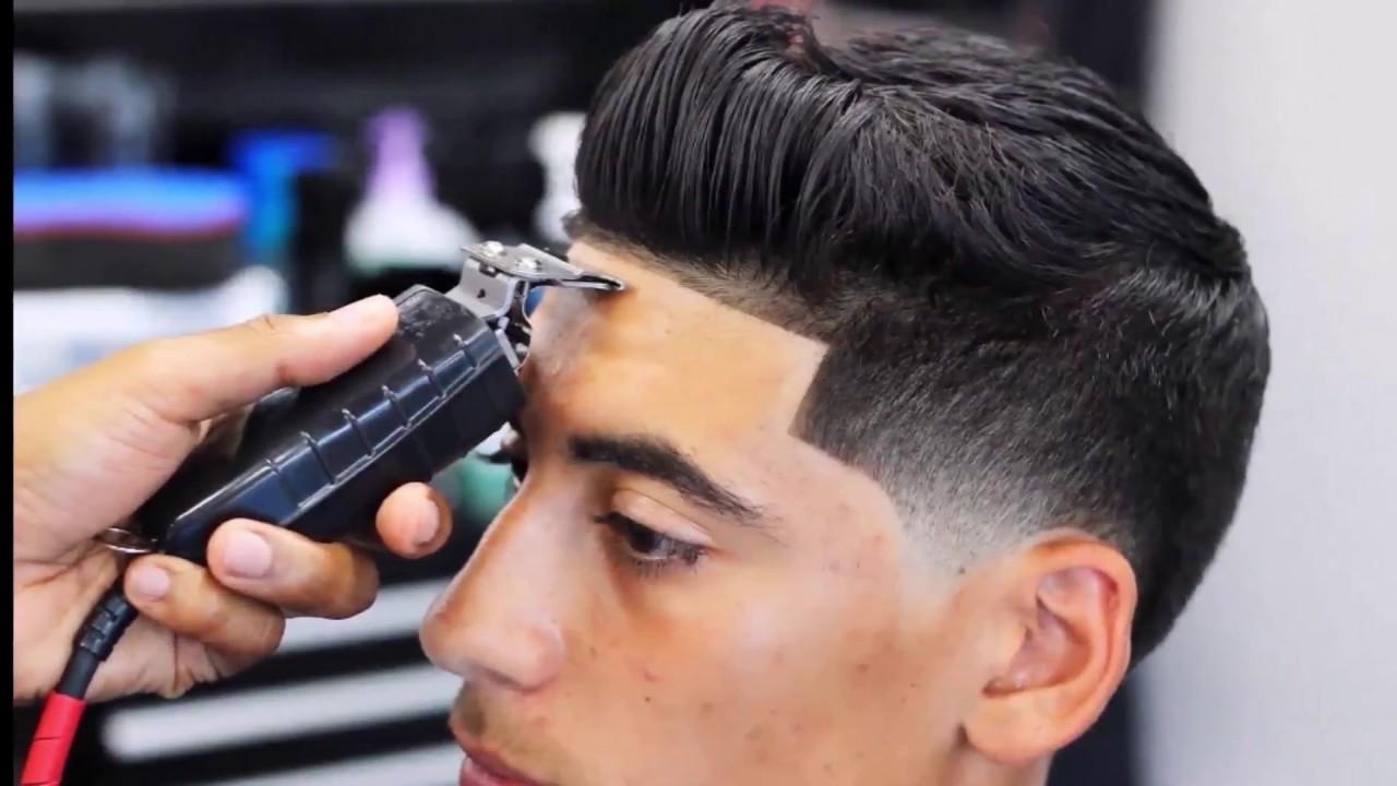 high taper fade haircut black men 2018 - youtube