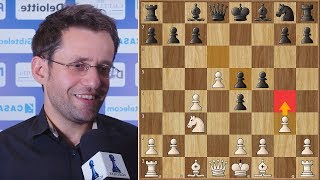 Aronian Plays g4 and All Hell Breaks Loose | #gibchess 2018. | Round 7
