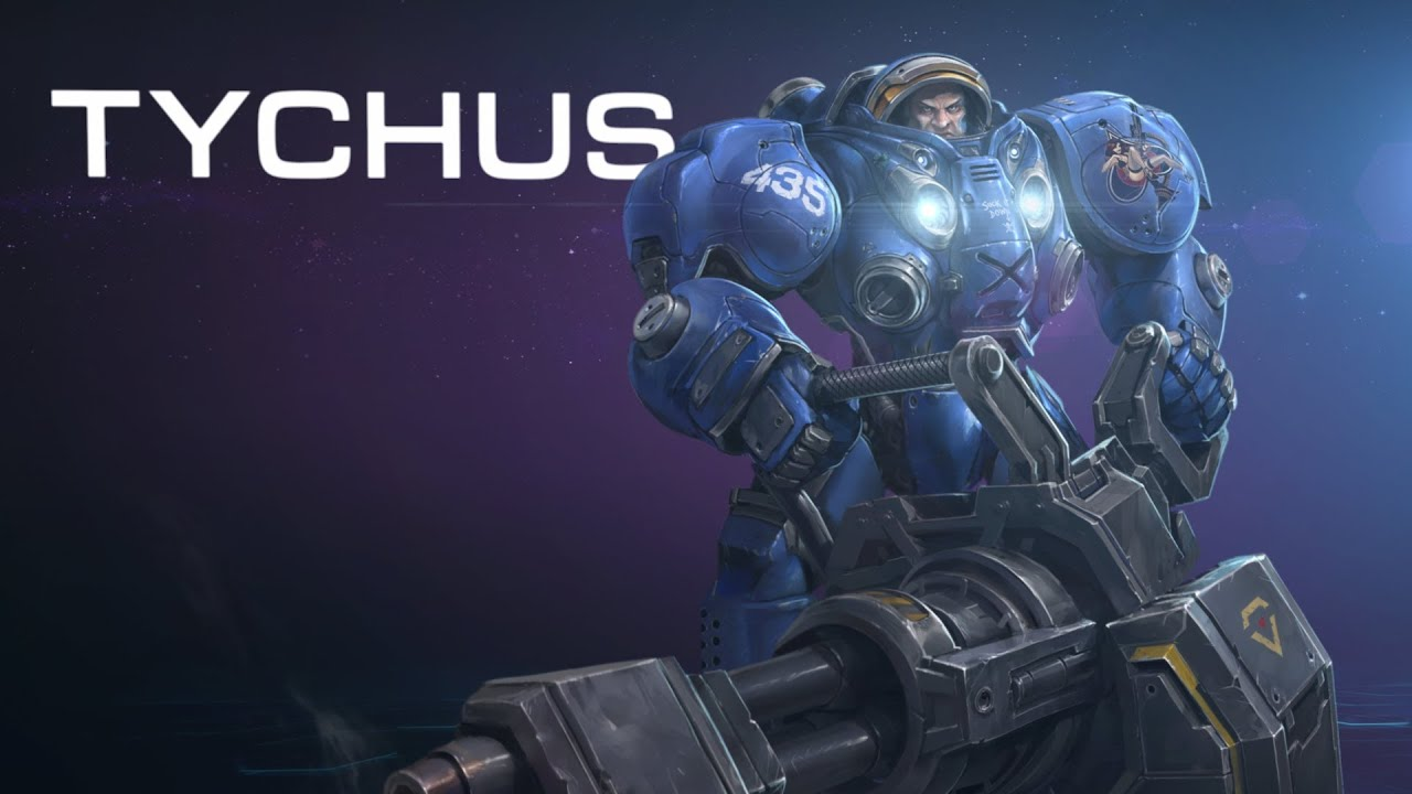 Heroes Of The Storm Tychus Trailer