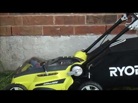 Ryobi 40v Cordless Lawnmower Doovi