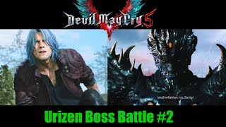 Urizen Boss Battle #2  - Devil May Cry 5 (Mission 17)