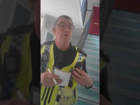 Bully w.o.g - Bradford Shipley Police - West Yorkshire attempts to force voluntary interview pt1