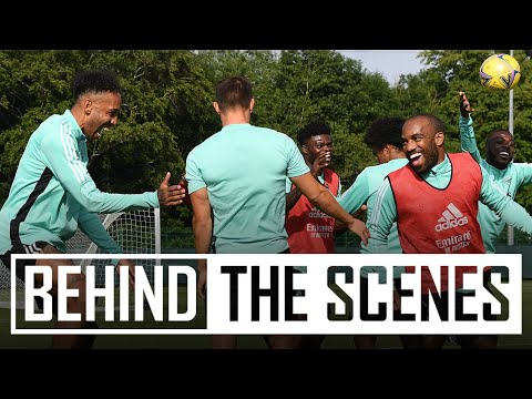Forwards firing on all cylinders! | Hibernian vs Arsenal | Behind the scenes