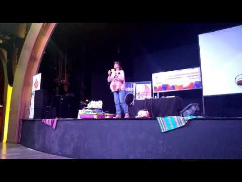 Elena Santa Cruz - Rol docente - Feria del Libro Abril 2017