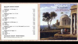 W. A. Mozart - Symphony No. 1 in E-Flat Major, K. 16: I. Molto allegro