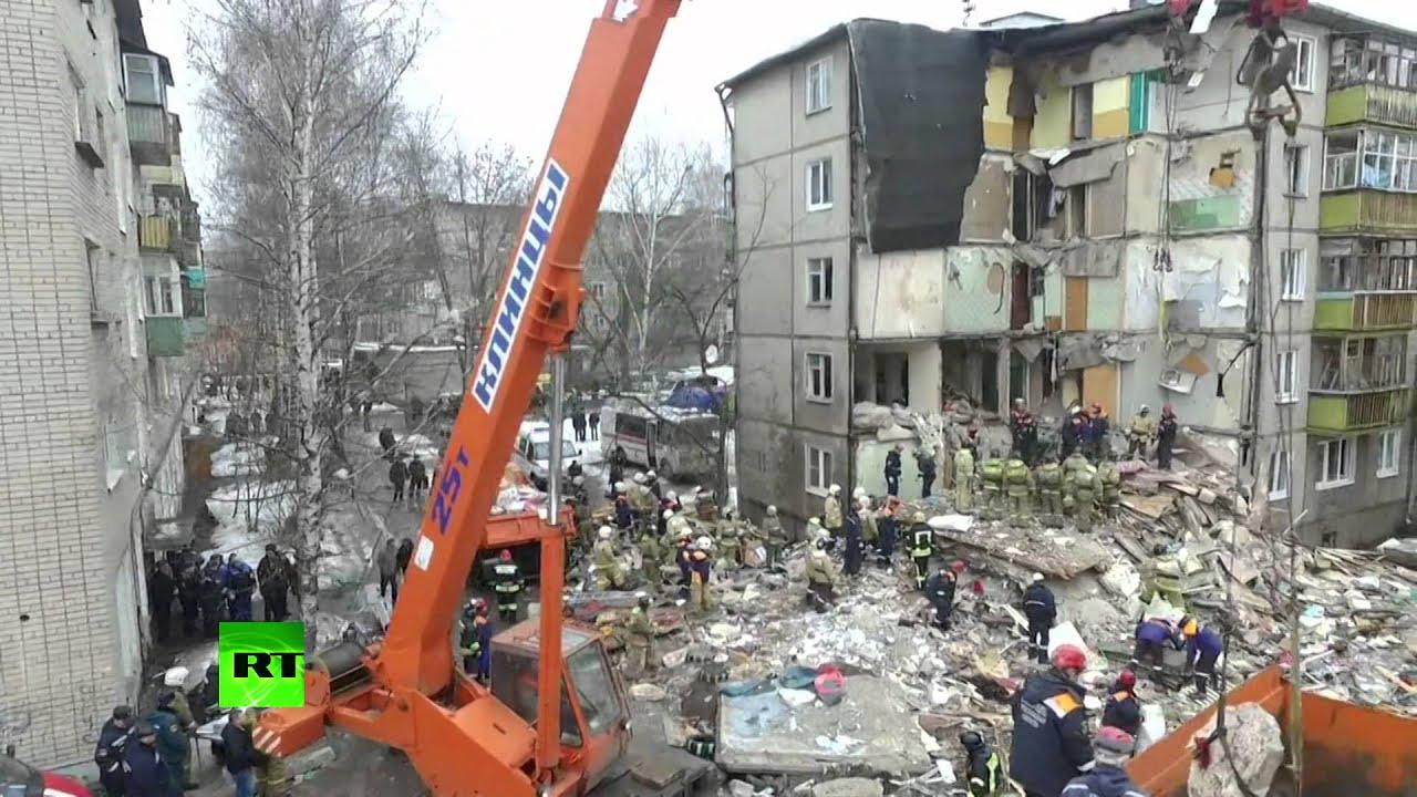 Число погибших при взрыве газа в доме в Ярославле возросло до семи человек