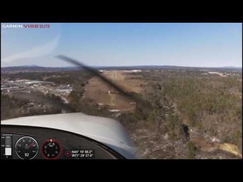 Cirrus SR20 G2 GTS – Full VFR pattern at KCON with CTAF audio.