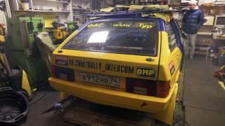 Rally Tour Garage. Engine First Start.