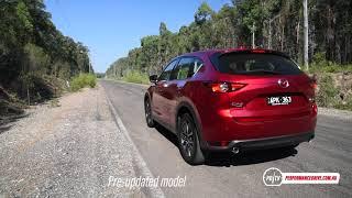 2018 Mazda CX-5 diesel (old vs new) 0-100km/h & engine sound