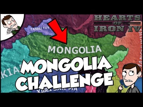 Hearts of Iron 4 HOI4 Mongolia Cavalry Only Challenge