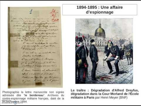 Capsule Vidéo Affaire Dreyfus
