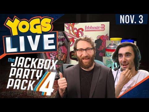Jackbox 4 w/ The Chilluminati Crew - 3rd November 2017
