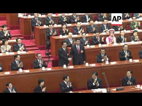 China names Xi Jinping president at the National People's Congress