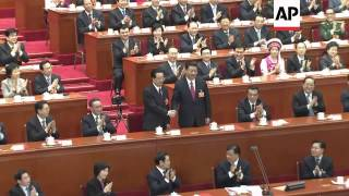 China names Xi Jinping president at the National People
