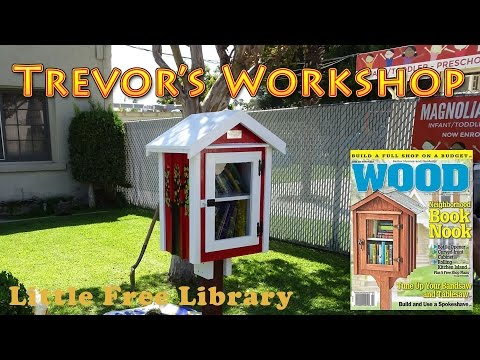 Building the Wood magazine Little Free Library (WOOD #238)