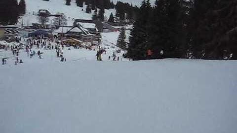 2009-12-28 Feldberg-Schwarzwald,Ski Abfahrt Rothaus-Grafenmatt