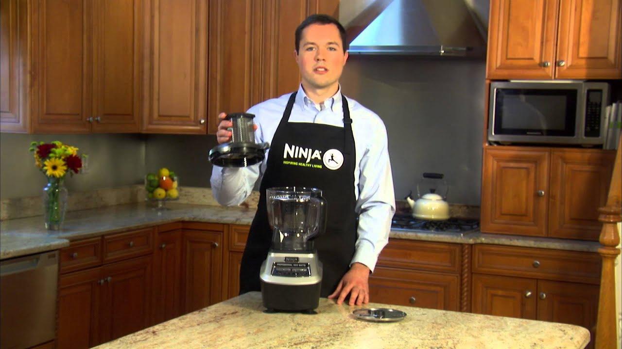 Ninja mega kitchen system 1500w 2hp food processor blender bl773co - Ninja Mega Kitchen System Bl773co How To Use The Slicer Shredder