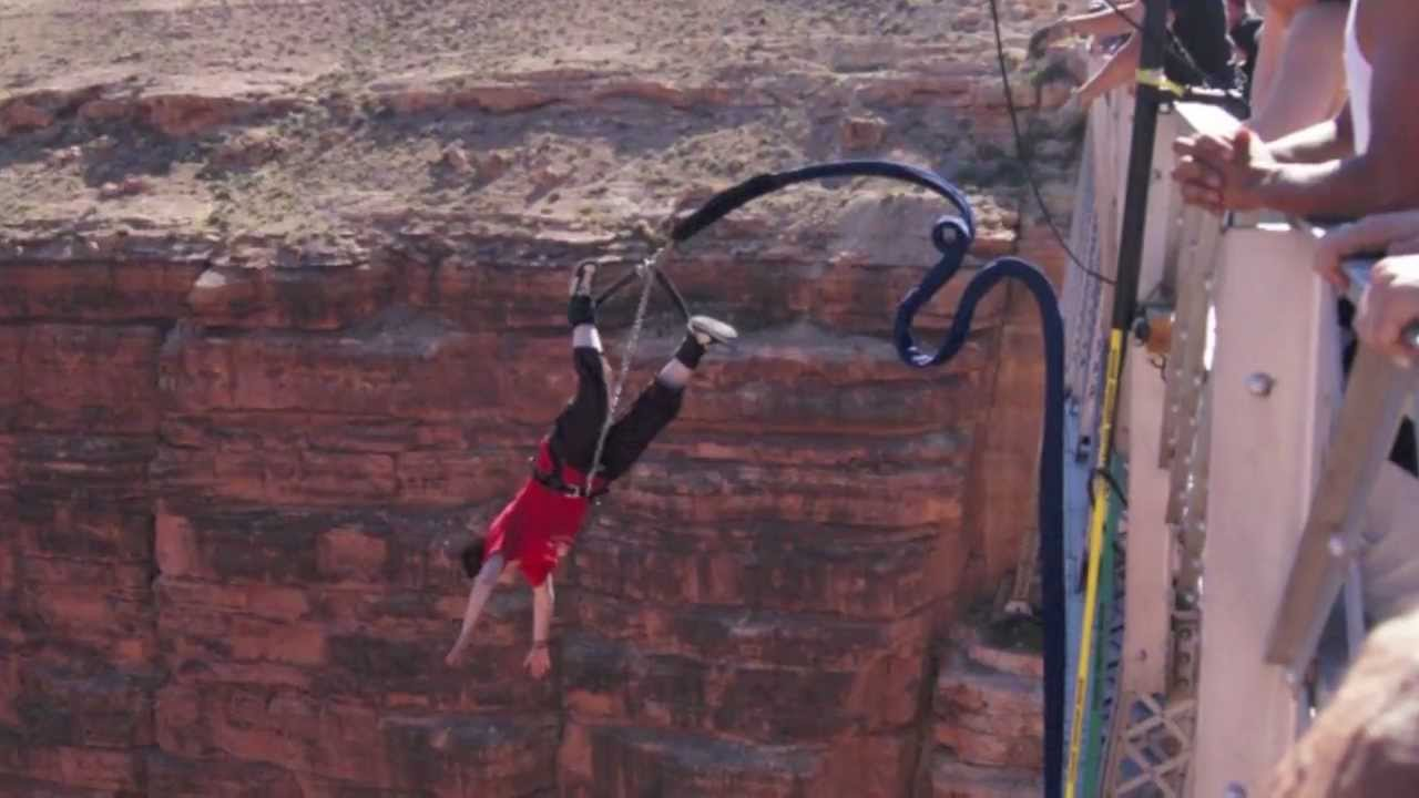 Bungee Jumping Navajo Bridge Youtube