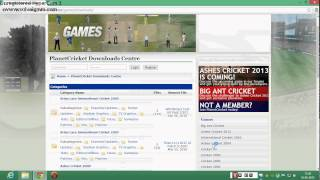 How to download cricket revolution game