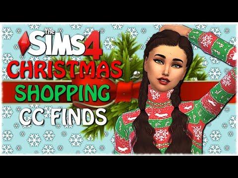 The Sims 4: CHRISTMAS CC SHOPPING + CC LINKS