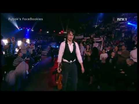 "Alexander Rybak. Norwegian ESC Final. ""Fairytale"" & voting. 21.02.2009"