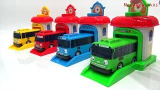 video for kids / тайо маленький автобус и гараж / детские игрушки TAYO /детский канал машинки сars