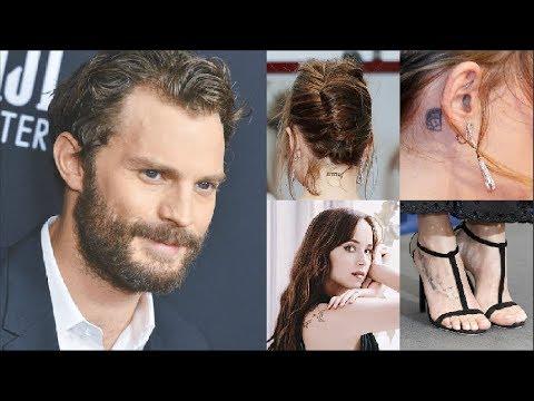 129e2707905a3 Jamie Dornan Likes Dakota Johnson's Tattoos ?   Fifty Shades Freed ...