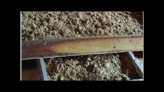 箱养蚯蚓把卵茧、粪粒和蚯蚓分离的方法