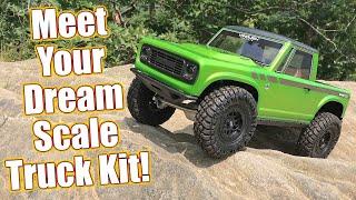 Dream Machine! Vanquish VS4-10 Pro Origin Halfcab Scale Trail Crawler Truck Review   RC Driver